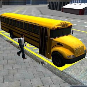 Schoolbus права 3D симулятор