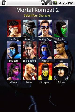 скачать игру Ultimate Mortal Kombat 3 на андроид