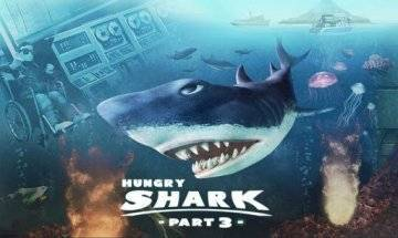 Hungry Shark 3 взлом