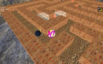 прохождение Лабиринт 3D