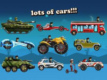 Up Hill Racing: Hill Climb взлом