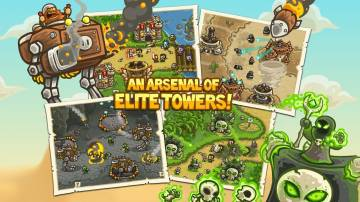 прохождение Kingdom Rush Frontiers