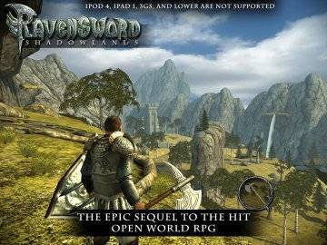 Ravensword: Shadowlands на русском