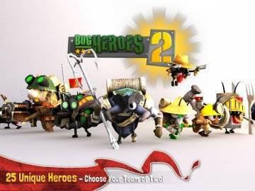 Bug Heroes 2 взлом