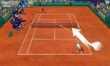 Теннис пальцем - Tennis 3D взлом