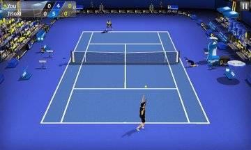 Теннис пальцем - Tennis 3D на андроид