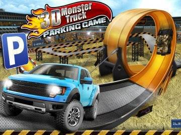 3D Monster Truck Parking Game взлом
