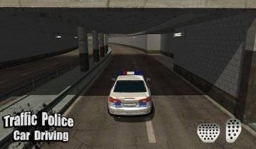 Traffic Police Car Driving 3D взлом
