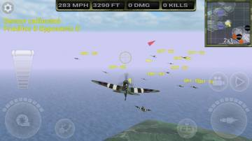 FighterWing 2 Flight Simulator на андроид