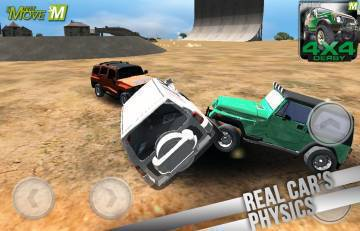 4x4 Real Derby Racing 3d 2014 читы