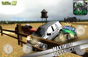 4x4 Real Derby Racing 3d 2014 прохождение