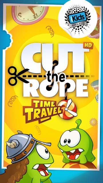 Cut the Rope: Time Travel взлом