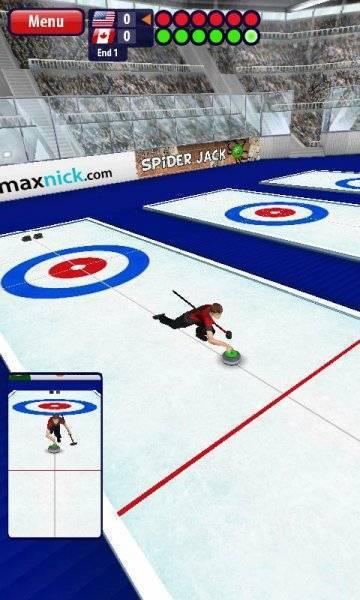 взлом игры Curling на андроид