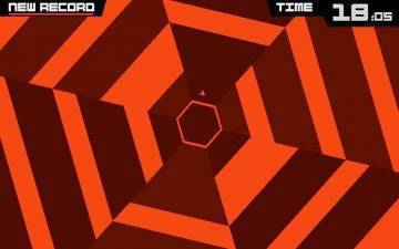 Super Hexagon прохождение