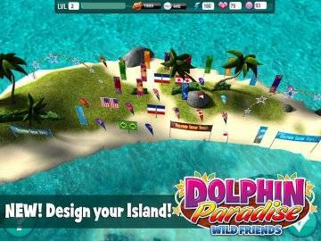 Dolphin Paradise: Wild Friends взлом