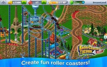 RollerCoaster Tycoon 4 на русском