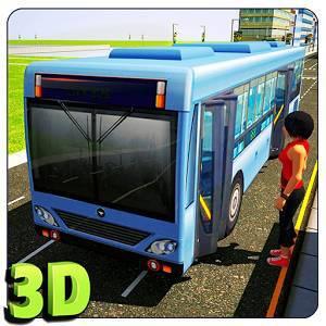 Водитель автобуса 3D
