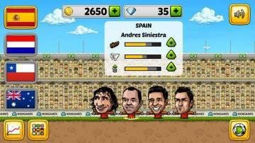 Puppet Soccer 2014 много денег