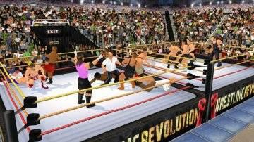 Wrestling Revolution управление
