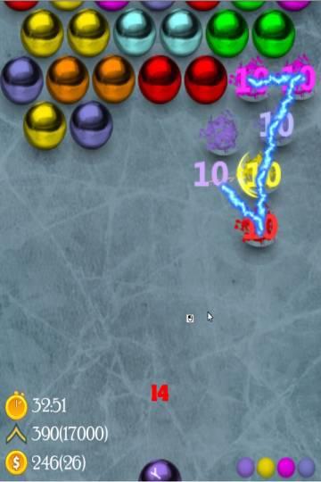 Головоломка Магнитные шарики игра