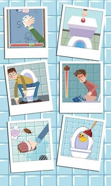 Приключения в туалете прохождение