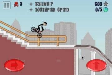 Stickman BMX прохождение