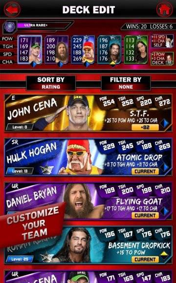 WWE SuperCard читы