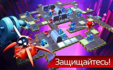The Bot Squad: Puzzle Battles на андроид