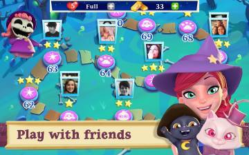 Bubble Witch 2 Saga игра