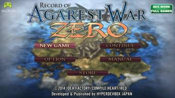 Record of Agarest War Zero взлом