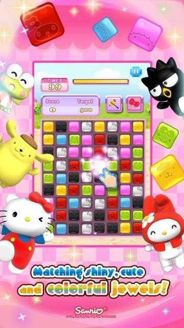 Hello Kitty Jewel Town взлом
