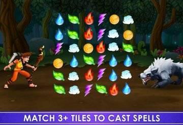 Spellfall Puzzle Adventure взлом