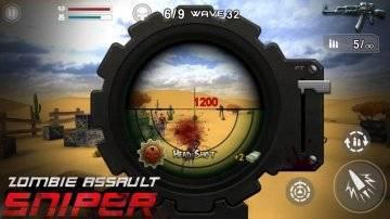 Zombie Assault Sniper много золота