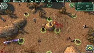 Zombie Defense на андроид