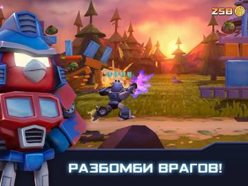 Angry Birds Transformers прохождение