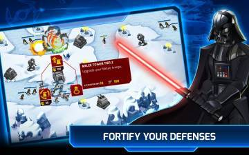 Star Wars Galactic Defense прохождение