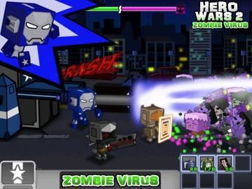 Hero Wars 2: Zombie Virus читы