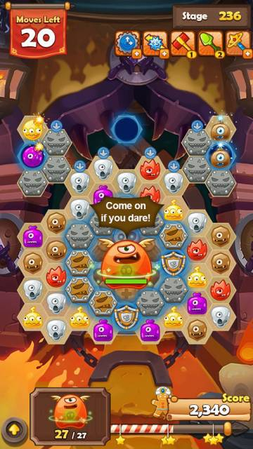Monster Busters Hexa Blast скачать