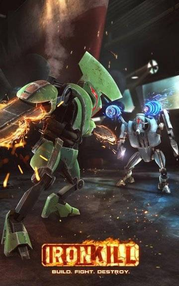 Ironkill Robot Fighting Game на андроид