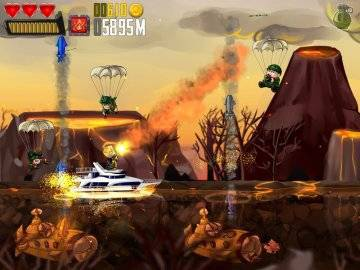 Ramboat Hero Shooting Game на андроид