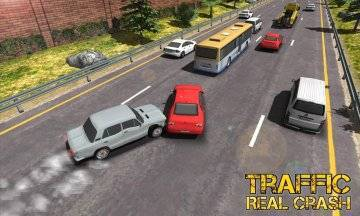 Real Racer Crash Traffic 3D взломанная