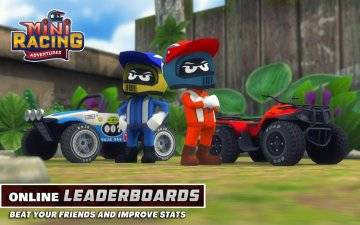 Mini Racing Adventures взломанный