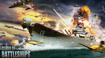 Clash of Battleships взломанная