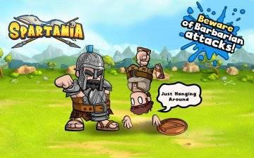 Spartania The Spartan War на андроид
