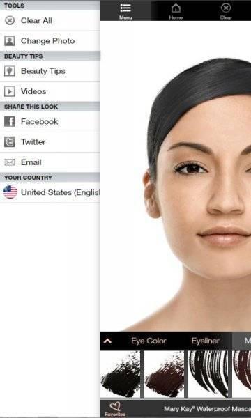 Виртуальный макияж Mary Kay скачать