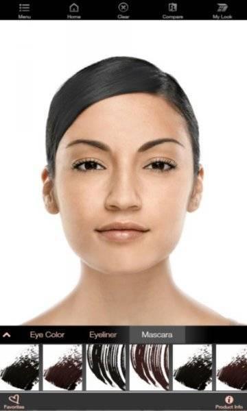 Виртуальный макияж Mary Kay на андроид