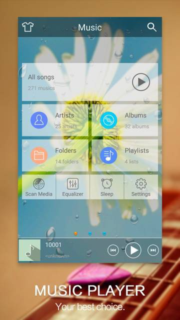 Music Player на андроид
