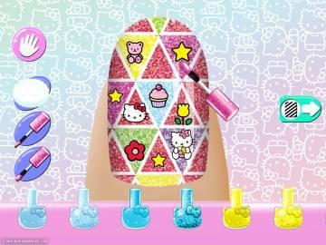 Маникюрный салон Hello Kitty полная версия