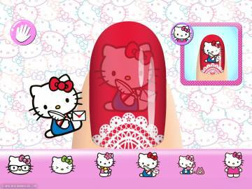 Маникюрный салон Hello Kitty скачать