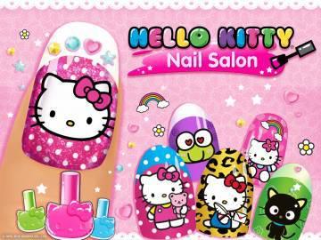 Маникюрный салон Hello Kitty взлом